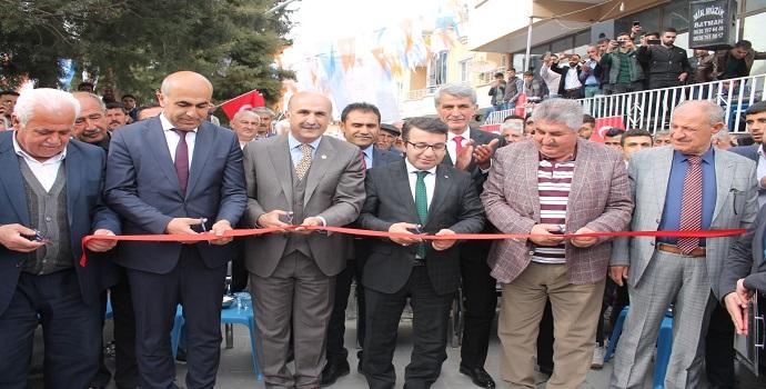 AK Parti Beşiri Seçim Lokali Açıldı