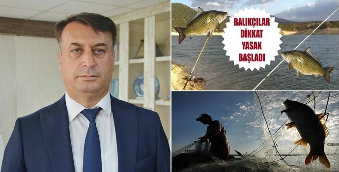 Balık avlama yasağına dikkat!