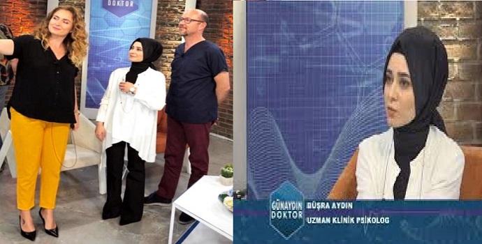 BATMANLI PSİKOLOG, TV8'İN KONUĞU OLDU