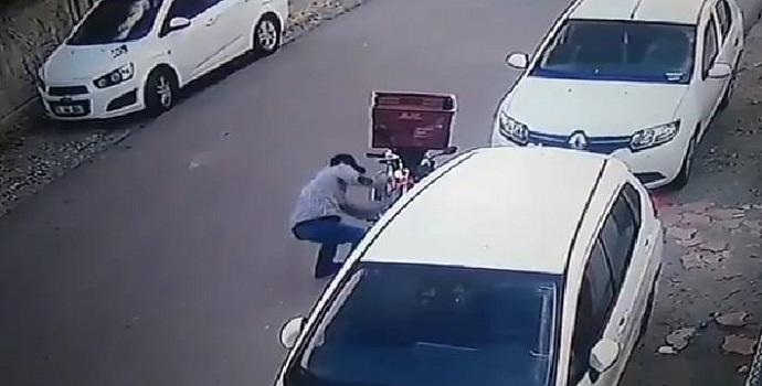 Dakika Dakika hırsızlık anı!