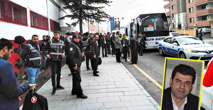 Futbol terörü Nevşehir'de!