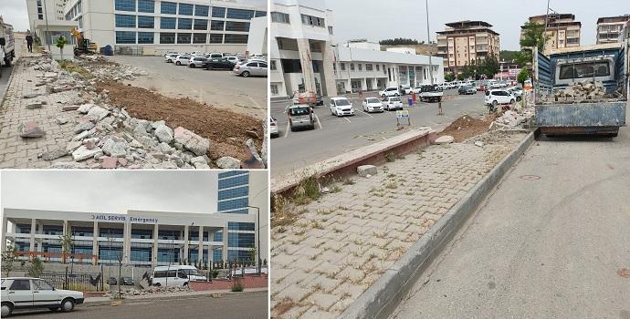 Hastaneye 2 yeni kapı yapılıyor