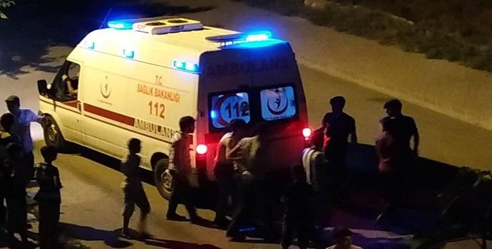 Komşu kavgasında bir kadın bıçaklandı