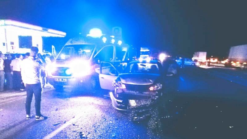 Kozluk yolunda kaza, 7 kişi yaralı!