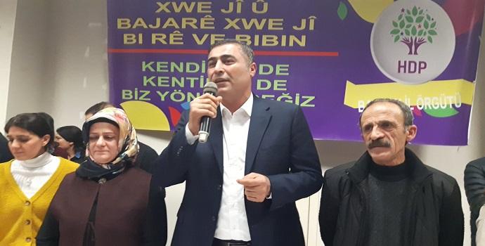 """ÖZDEMİR """"PARTİME HİZMET ETMEYE DEVAM EDECEĞİM"""""""
