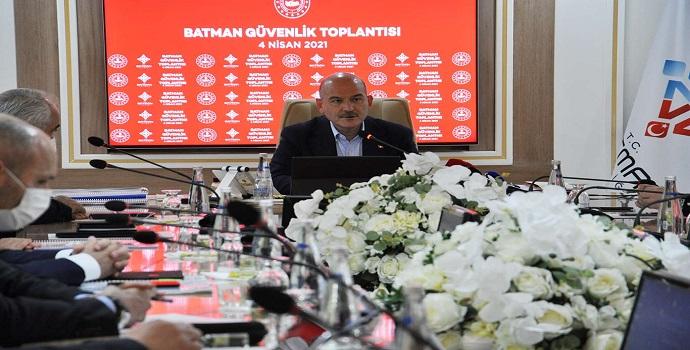 Süleyman Soylu Batman'da sert konuştu: Edepsizler...