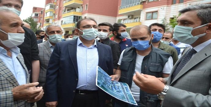 VALİ İŞİ HAL ETTİ, HERKES RAHATLADI