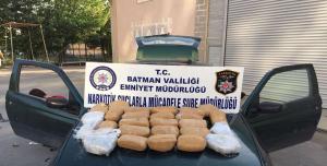 26.700 gr. uyuşturucu ele geçirildi