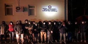 44 göçmen yakalandı