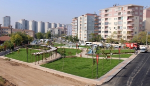 Belediye 5 park yaptı