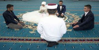 1 yılda 160 nikah kıyıldı
