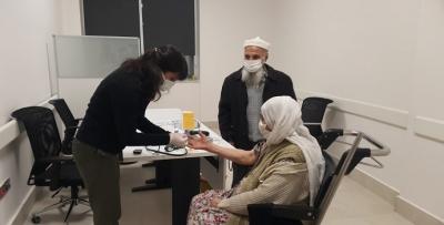 85 yaş üstü olanlara aşı