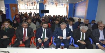 AK PARTİ GERCÜŞ TOPLANTISI YAPILDI