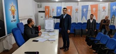 Ak Parti'de delege seçimi yapıldı