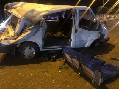 Batıraman yolunda kaza, 3 kişi yaralı!
