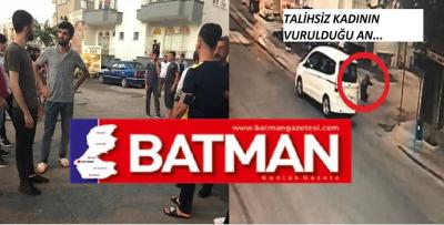 BATMAN'DA CADDE ORTASINDA CİNAYET!