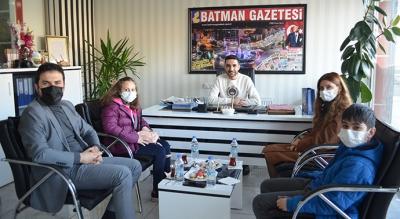 FİNAL'DEN GAZETEMİZE ZİYARET