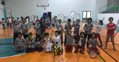 Geleceğin tenisçileri