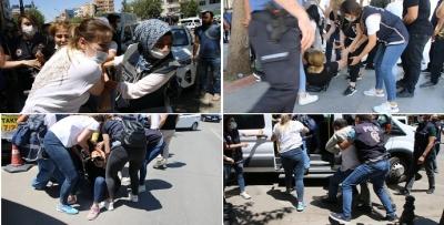 GERGİNLİK, POLİS BASIN AÇIKLAMASINA İZİN VERMEDİ