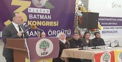 HDP, BATMAN'DA 'ÇOĞUNLUK SAĞLAYAMADI'!!!