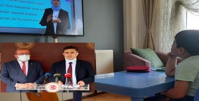 """HDP'li Tiryaki, """"uzaktan eğitime erişilmiyor"""""""