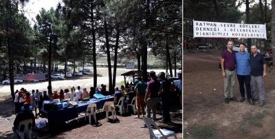 İstanbul'daki Batmanlılar piknikte buluştu