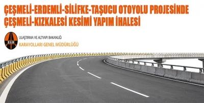 KARAYOLLARINDAN ERDEMLİ-SİLİFKE OTOYOL PROJESİ