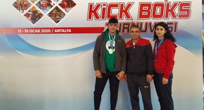 Kick-Boks'ta Türkiye dereceleri