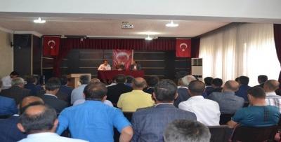 'KÖYLERE HİZMET' TOPLANTISI