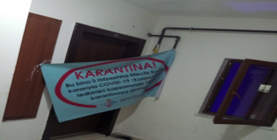KOZLUK'TA YİNE KARANTİNA