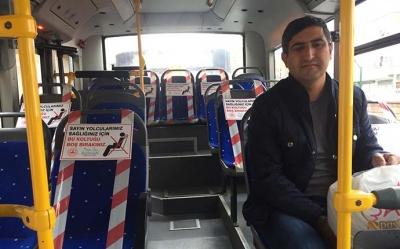Otobüslerde 'boş' koltuk uygulaması