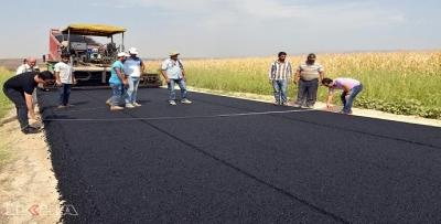 Özel İdare'ye hibe asfalt