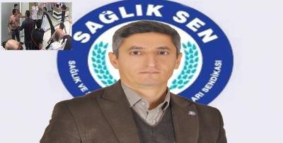 """SAĞLIK-SEN """"SAĞLIKTA ŞİDDET KABUL EDİLEMEZ"""""""