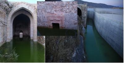 Saray'ı koruyan beton çöktü