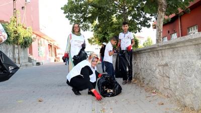 Yeşiltepe'de temizlik seferberliği