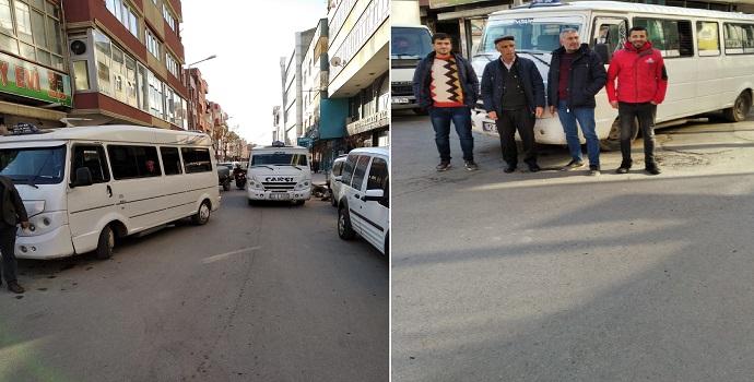 Duraksız minibüsler ceza kıskacında